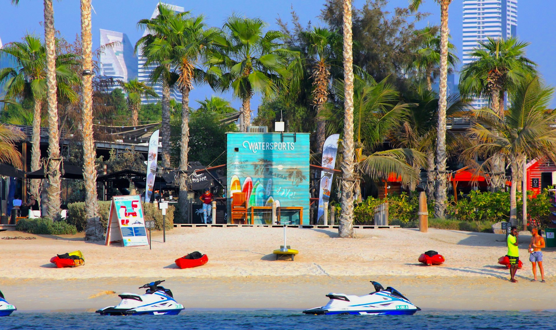 watersports la mer south beach dubai