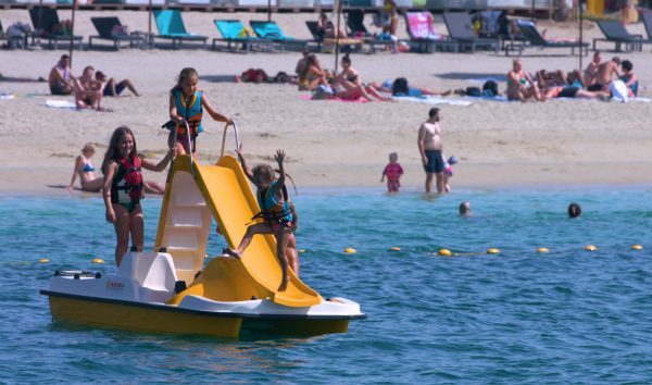 Pedalo with Slide